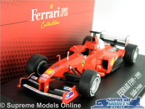 Ferrari F399 Coche Modelo 1:43 tamaño IXO Atlas Fórmula Uno Eddie Irvine 7174024 T3