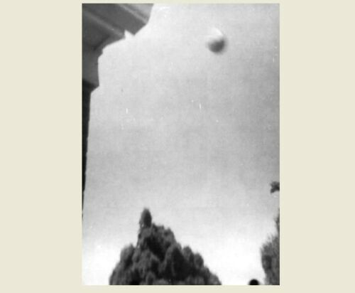 1967 UFO Flying Saucer PHOTO Wichita Kansas PROJECT BLUE BOOK Flying Disc