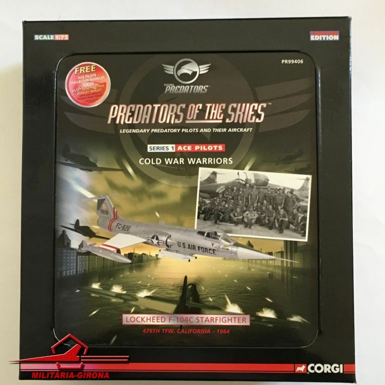 Corgi 1 72 Prossoators of the Skies PR99406 Lockheed F-104C Starfighter 479Th TFW,