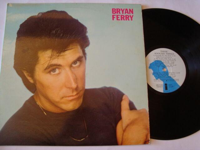 BRYAN FERRY : THESE FOOLISH THINGS Original Island Album