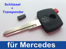 Schlüsselrohling mit Transponder für Mercedes Vito & Sprinter