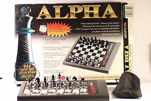 VINTAGE-KRYPTON-ALPHA-SYSTEMA-ELECTRONIC-CHESS-CHECKERS-CHESS-COMPUTER