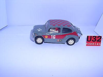 Spielzeug Kinderrennbahnen Rapture Slot Car Fiat-sitz 600 Abarth #16 Grau Rtr Resine Mint