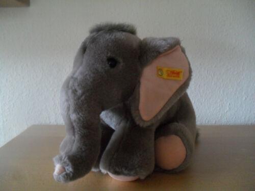 Elefanten Elefant Trampili von Steiff mit Knopf und Fahne Nr 083242; sehr guter Zustand
