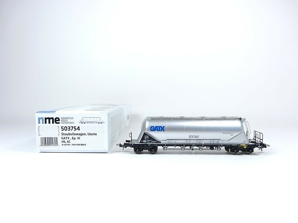oferta especial NME h0 503754 ac, staubsilowagen uacns 82m³ gatx, gatx, gatx, plata, NUEVO, EMBALAJE ORIGINAL  cómodamente