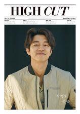 HIGH CUT VOL.191 GONG YOO GONGYOO f(x) SULLi KOREA MAGAZINE TABLOID NEW