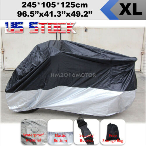 XL Motorcycle Cover For Yamaha YZF R1 R1S R1M R3 R6 R6S R7 1000 R 600R 750R US