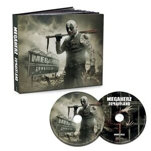 MEGAHERZ-ZOMBIELAND-LTD-FIRST-EDT-MEDIABOOK-2-CD-NEU
