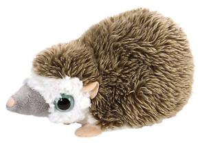 """Wild Republic WOWS 7/"""" Hedgehog Soft Toy Cuddly Teddy 89397"""