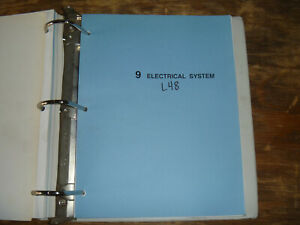 [DVZP_7254]   Kubota L48 Tractor Loader Backhoe Electrical Wiring Diagram Manual | eBay | Kubota L48 Wiring Diagram |  | eBay