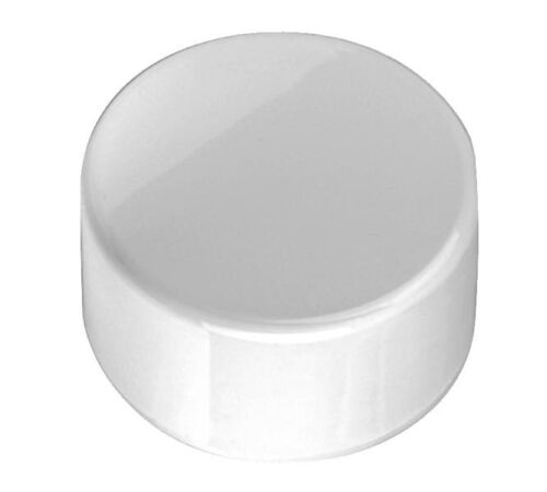 FITS 2.375 INCH PIPE Pack of 2 2-Inch PVC Furniture Grade Pipe End-Cap