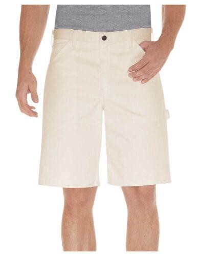 """Dickies Mens Natural 10/"""" Painter/'s Shorts DX400NT"""