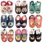 Boys Girls New Premium Soft Leather Baby Pram Shoes 0 6 12 18 24 Months UK