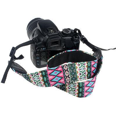 New Camera Shoulder Neck Cotton Nylon Strap Belt For SLR DSLR Nikon Durable