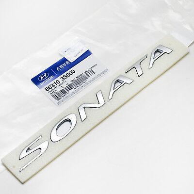 863103S000 Rear Trunk Logo Sonata Emblem j For HYUNDAI SONATA 2011 12 13 14 2015