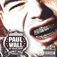 The Peoples Champ [Bonus Disc] [PA] [Limited] by Paul Wall (Rap) (CD, Sep-2005,