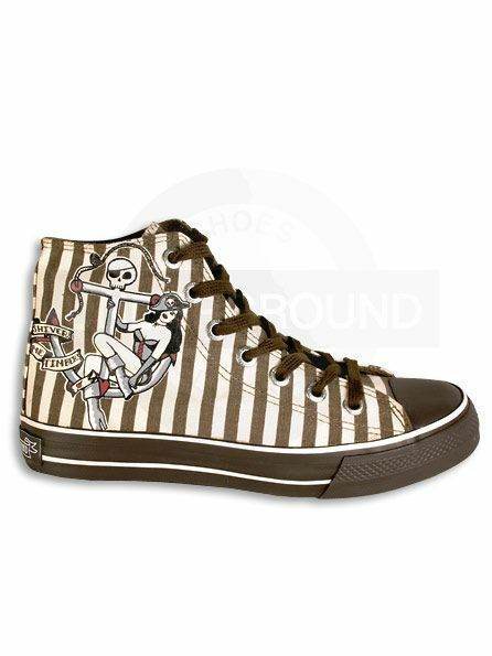 Underground England Sneaker Rockabilly Anker Anker Rockabilly #01 89dd9c