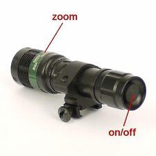Torcia tattica Lampada zoom ultra potente a laser LED bianco 800 lumen - ID 4351