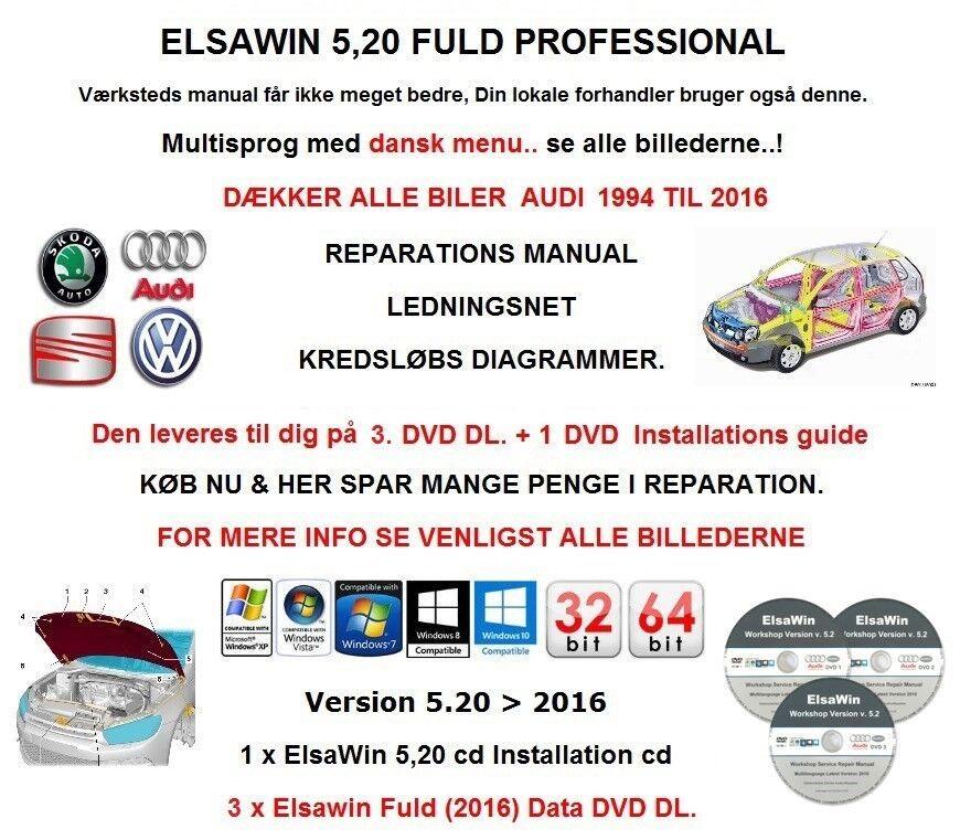 Audi, Reparation Manual Elsawin