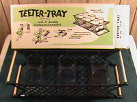 Vintage Teeter Rocking Serving Tray (no Cups) -good For Boats, Campers, Rv's
