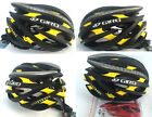 Giro bicycle Road Cycling MTB Bike Helmet. size M (54-59cm) blac k+ yellow + box