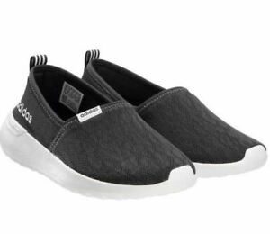 Details about Adidas Women's Neo Cloudfoam Lite Racer Slip On Shoes