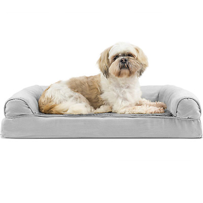 Brilliant Furhaven Pet Dog Bed Orthopedic Ultra Plush Sofa Style Couch Pet Bed For Dogs Ebay Evergreenethics Interior Chair Design Evergreenethicsorg