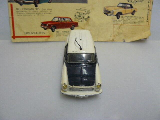 DINKY TOYS    ANCIEN  VOITURE  PEUGEOT 404 BREAK DE POLICE référence 1429   Good Design    Qualité Et Quantité Assurée    En Vente  93cc71