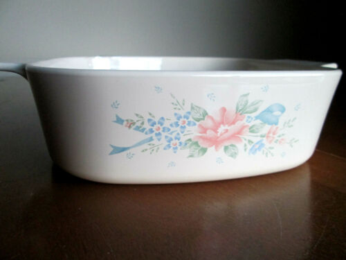 "casserole baking dish with lid serving Vintage Corning Ware /""Symphony/"" 2 l"