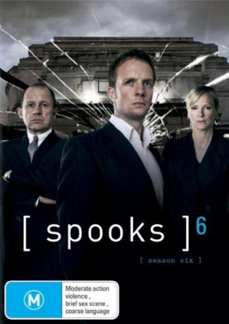 Spooks : Series 6 (DVD, 2008, 5-Disc Set) Hermione Norris, Hugh Simon