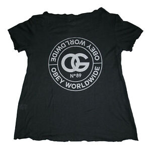 Tee La Donna Dylan Rue Black Heather T Obey De Ruine Shirt f8wgxqZ