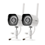 Zmodo-720p-WiFi-Camera-2-Pack-Outdoor-Indoor-Home-Security-Wireless-Surveillance thumbnail 1