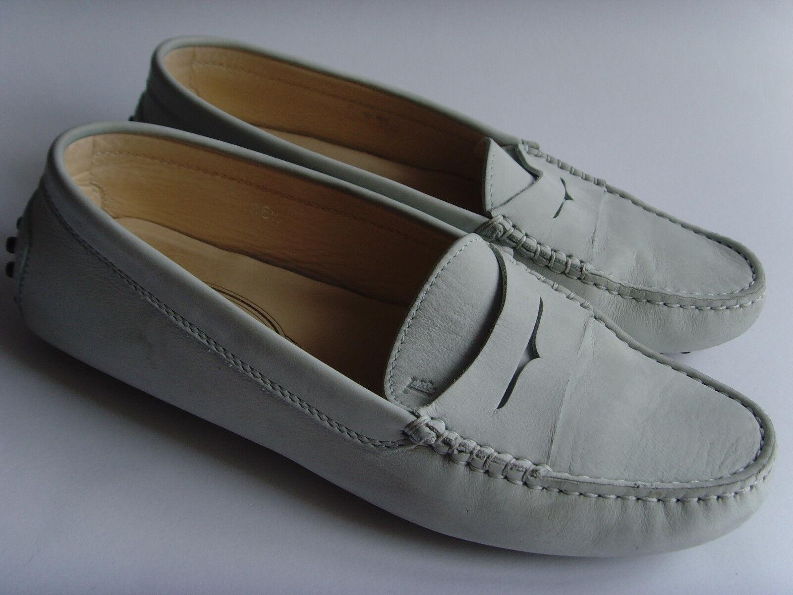 Leder Schuhe-Mokkasins - Luxus Marke - Original TOD'S - Italy - Gr.36,5