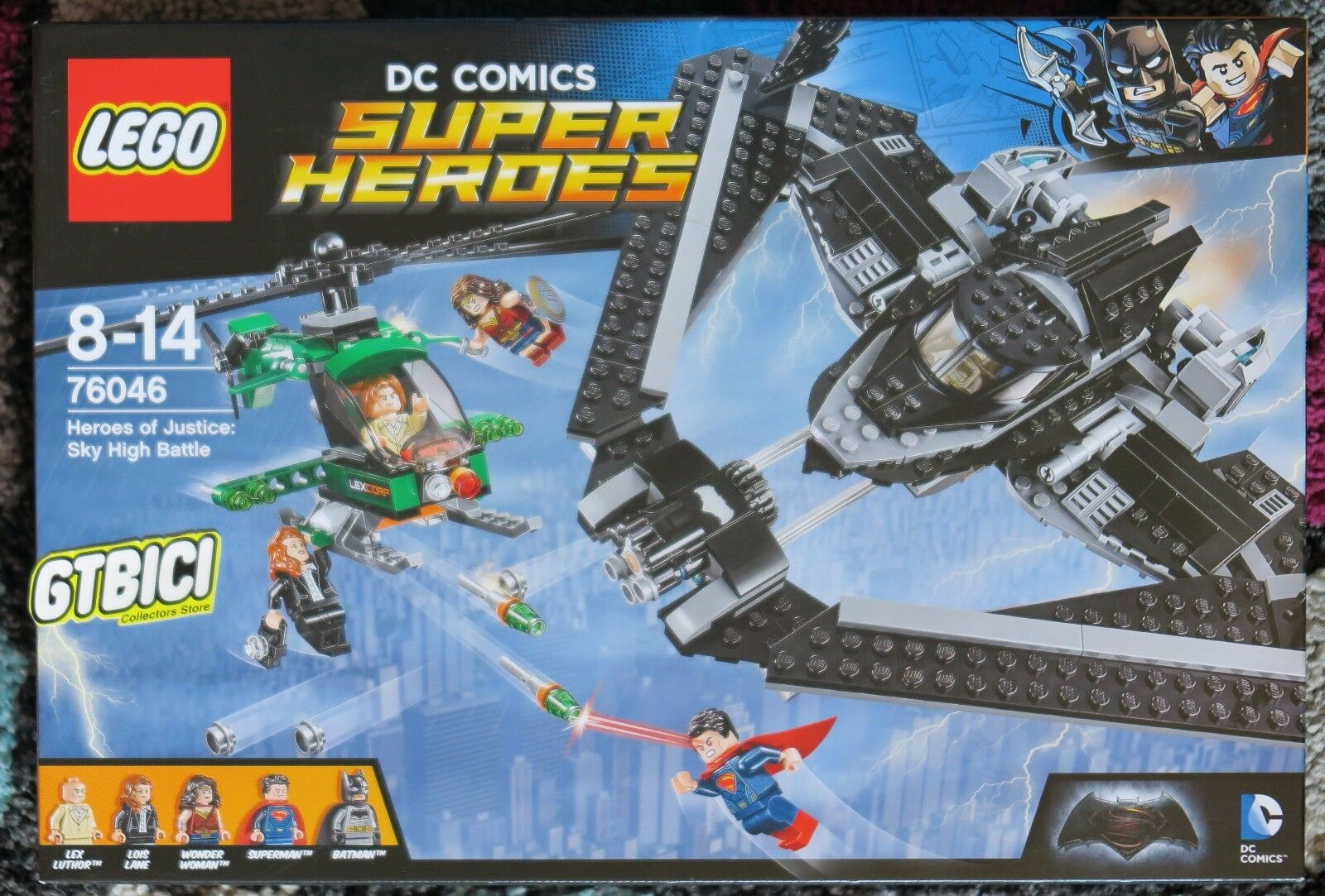 LEGO SUPER SUPER SUPER HEROES DC HEROES OF JUSTICE: SKY HIGH BATTLE  Ref 76046 NUEVO 2d8615