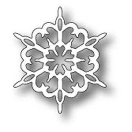 """NEW MEMORY BOX 98615 /""""Rizza Snowflake/""""  100/% Steel Craft Die Size  1.6 x 1.9 in"""