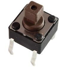 10 Diptronics DTS-644N-V Mini-Taster 12V 50mA 1xEIN 1,6N 6x7,3mm liegend 855614