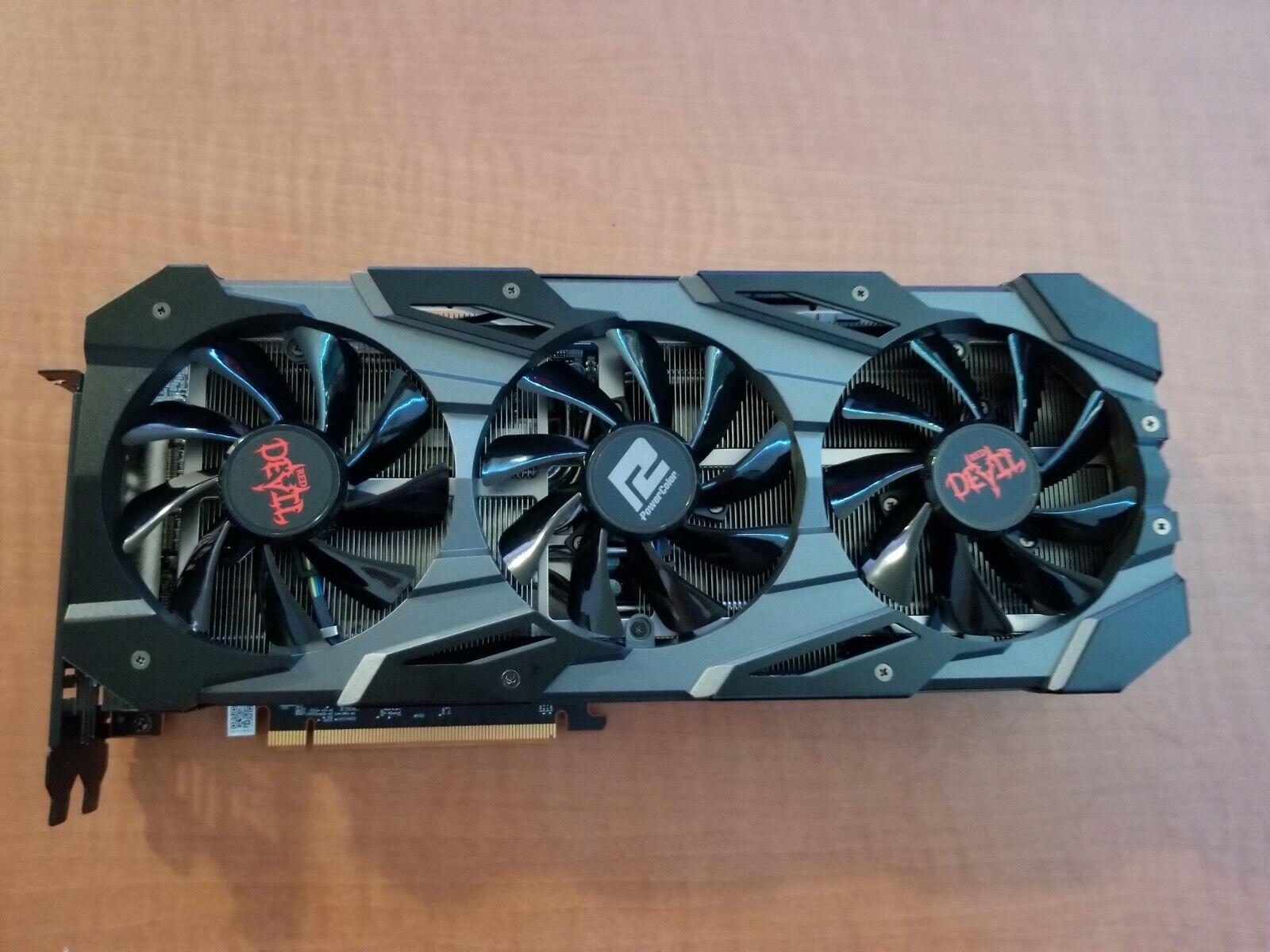 PowerColor Red Devil AMD Radeon RX 5700 XT 8GB GDDR6 Graphics Card (AXRX 5700 X…