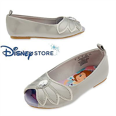 Disney Junior Sofia the First Gladi Play Sandal Shoes Silver Size 6 8 9 10 NWT