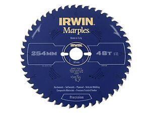 IRWIN IRW1897459 254 x 30mm 48-Teeth Irwin Marples Circular Saw Blade with ATB T