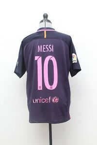 Maillot-Football-Collection-Vintage-FC-BARCELONE-2016-N-10-MESSI-Taille-M