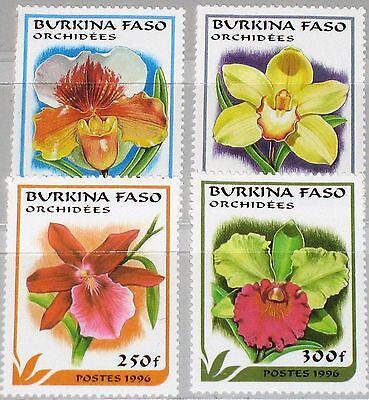 Preiswert Kaufen Burkina Faso 1996 1423-26 1083-86 Orchids Orchideen Flowers Blumen Flora Mnh Unterscheidungskraft FüR Seine Traditionellen Eigenschaften Briefmarken Afrika