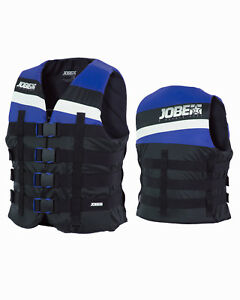 Jobe-4-Boucle-GILET-UNISEXE-BLEU-de-sauvetage-wakeboard-ski-nautique-SUP-jetski