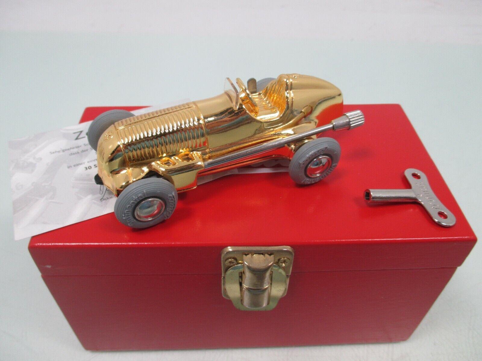 Schuco 1043 2 Micro Racer, Modell 1935 Mercedes Gold limitiert m.OVP (WM6019)