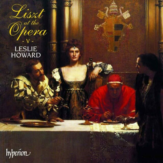 Liszt: Musik Für Klavier, Vol. 50 Leslie Howard At The Opera Vol.v Box 2 CD