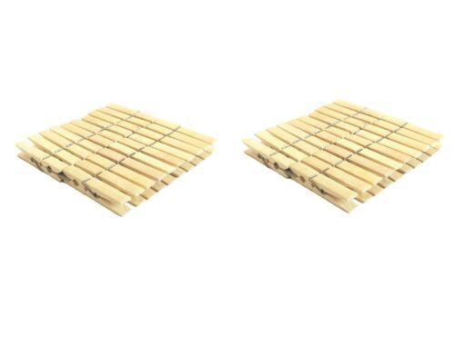 Eco Friendly Bambou Linge Bois Pinces à linge plastique gratuit