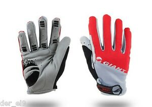 Giant Pro Cycling Gloves Full Finger Bicycle Mountain Bike Sport