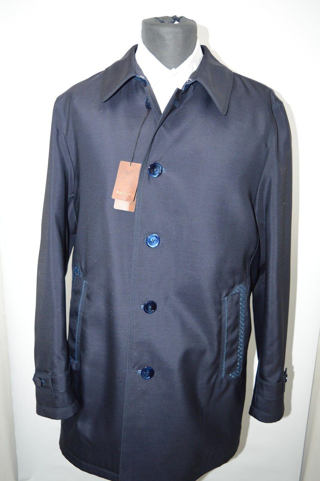 NEW 14700,00  STEFANO RICCI  Outwear  Coat   Us M  Eu 50 (G74)