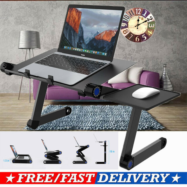 Computer Desk Sturdy Height Adjustable Standing Desktop Office Home Sit Stand AU
