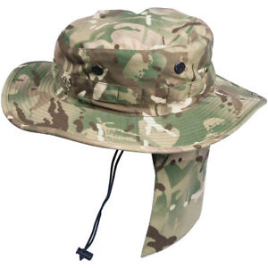 HELIKON-PCS-BOONIE-HAT-BUSH-BRITISH-ARMY-MULTICAM-MTP-TACTICAL-JUNGLE-MP-CAMO