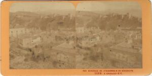 Spagna Grenade Grenada Foto J.Andrieu Stereo Vintage Albumina Ca 1870